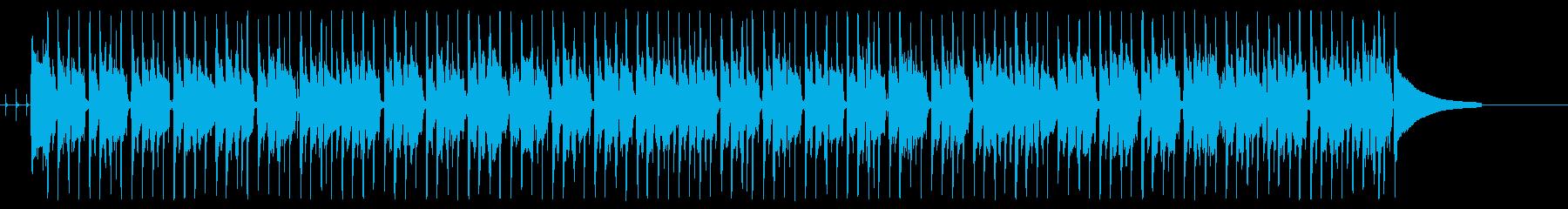 使いやすいファンク タンバリン無し版の再生済みの波形