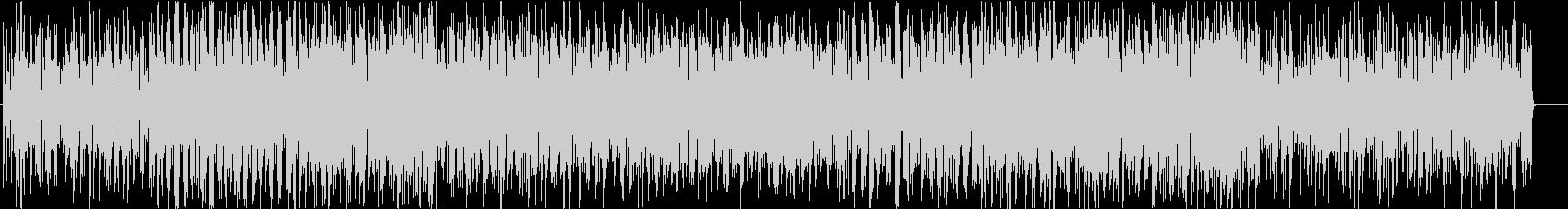 グルーヴィーなファンク調ポップスの未再生の波形