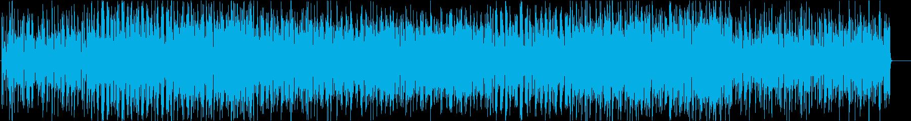 グルーヴィーなファンク調ポップスの再生済みの波形