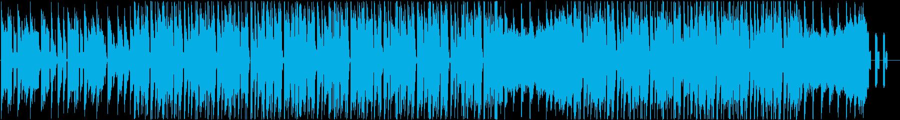 可愛く怪しいJAZZYなチップチューンの再生済みの波形
