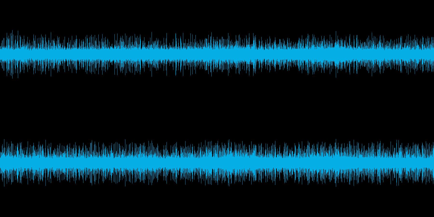 雨音 森の中 ループ可の再生済みの波形