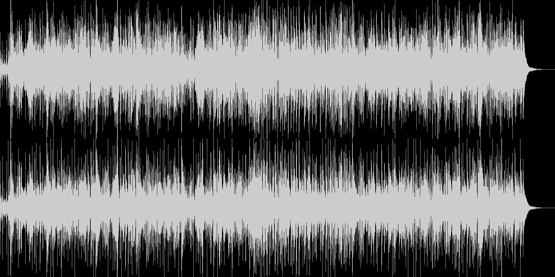 お洒落なジャズピアノトリオ12の未再生の波形