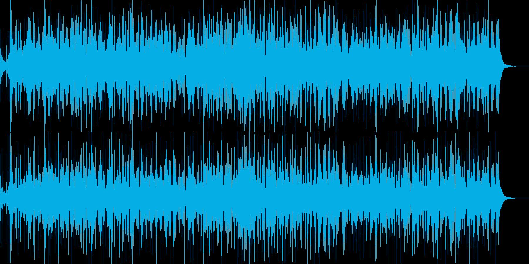 お洒落なジャズピアノトリオ12の再生済みの波形