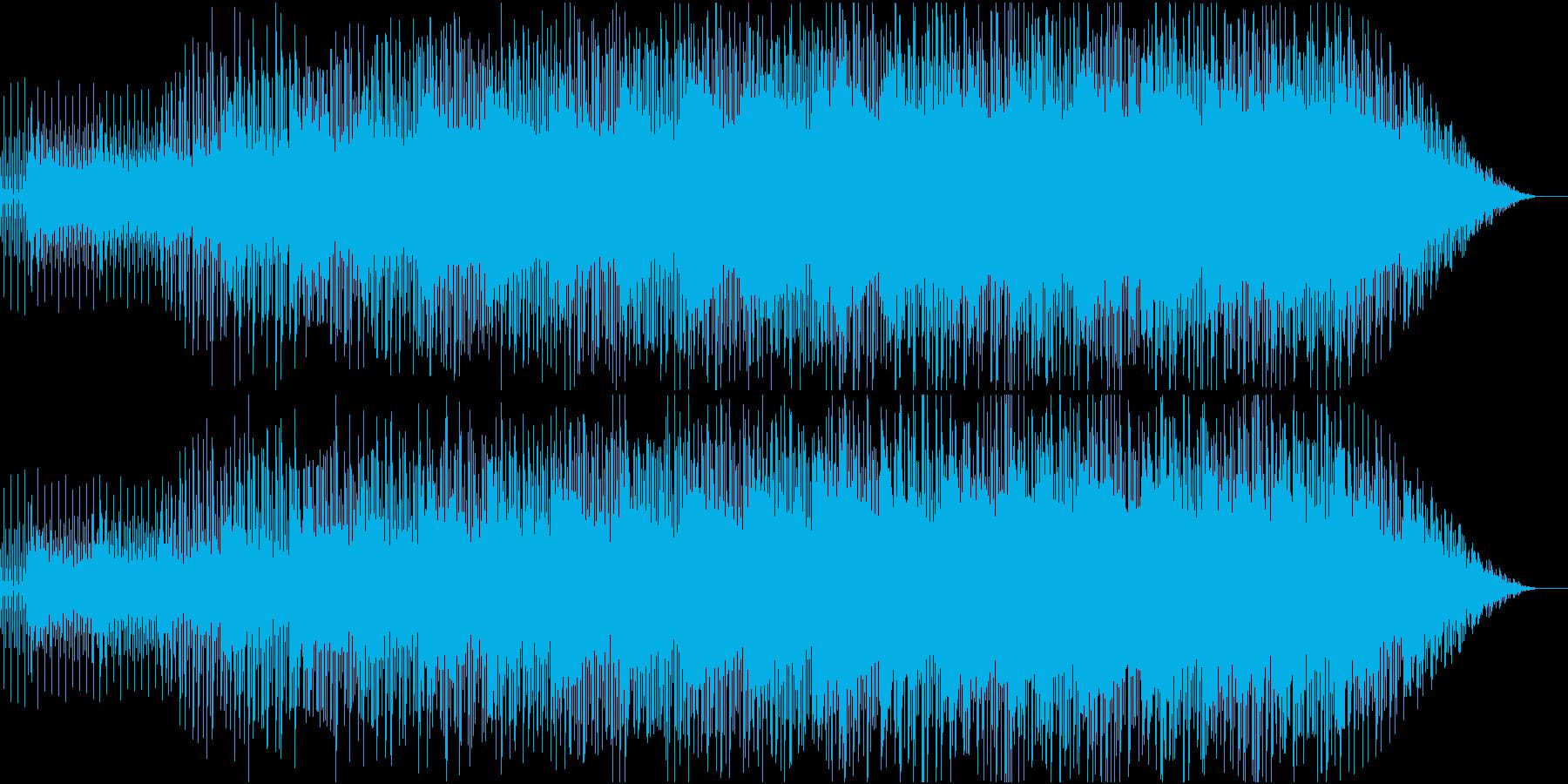 爽やか/明るい/ポップなBGMの再生済みの波形