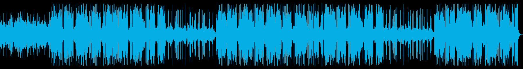 和風江戸のお祭りガレージトラップビートの再生済みの波形