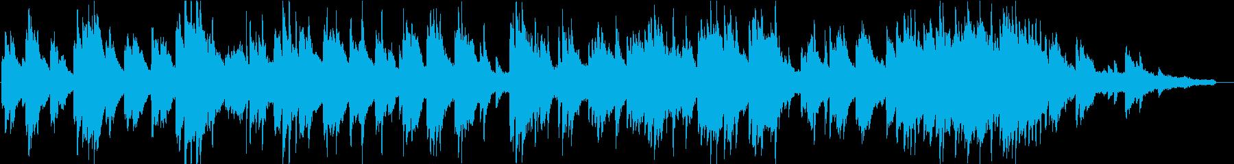 ヒーリングピアノ組曲 まどろみ 11の再生済みの波形