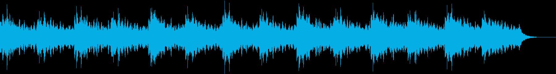 1分半ソング 水中散策 エレキギターの再生済みの波形