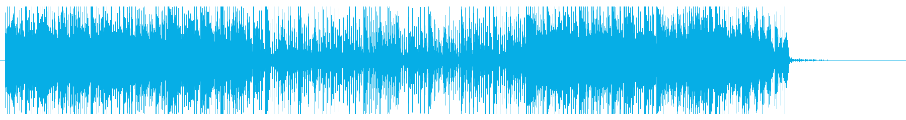 緊張感のあるエレクトリックアンビエントの再生済みの波形
