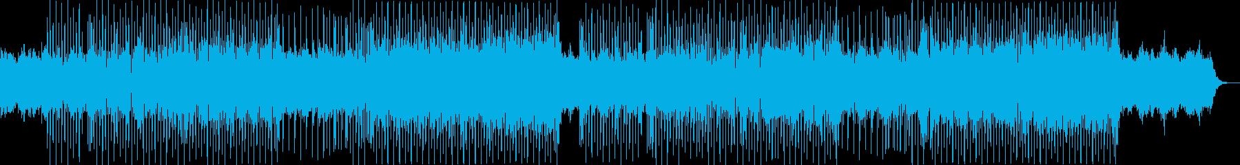 Funk、おしゃれ、シティポップ aの再生済みの波形
