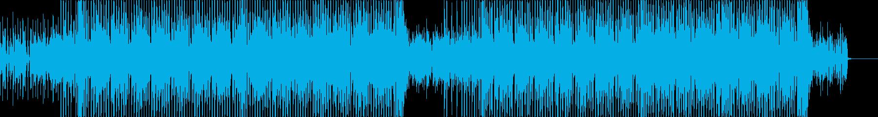 【シンセ抜き】軽快なギターのお洒落ハウスの再生済みの波形