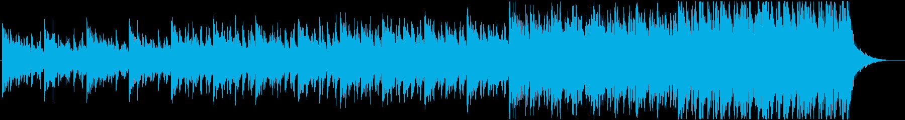 緊迫感のあるシネマティック曲 5-1の再生済みの波形