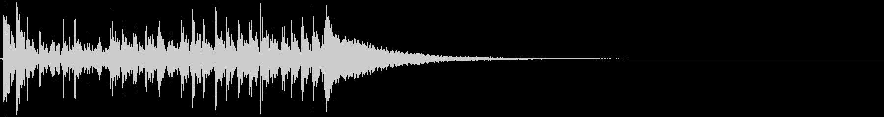 低音:シンバルの速いロールアクセン...の未再生の波形
