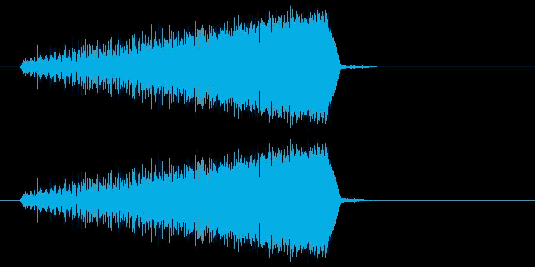 ヒュイィィ(力や気を溜める音) 02の再生済みの波形