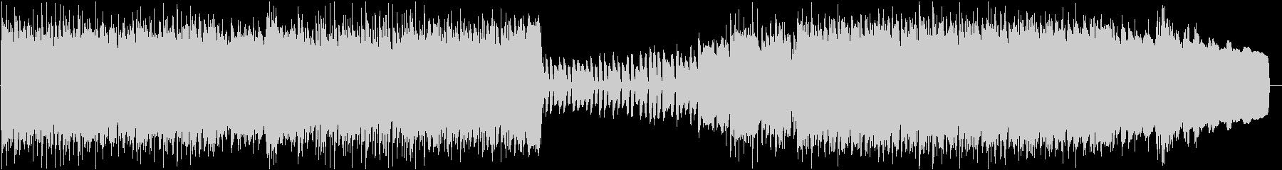 ファンタジー / 哀愁感あるケルト曲の未再生の波形