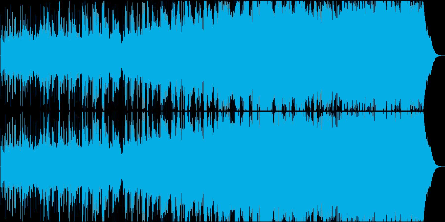 アンニュイなギターサウンドの再生済みの波形