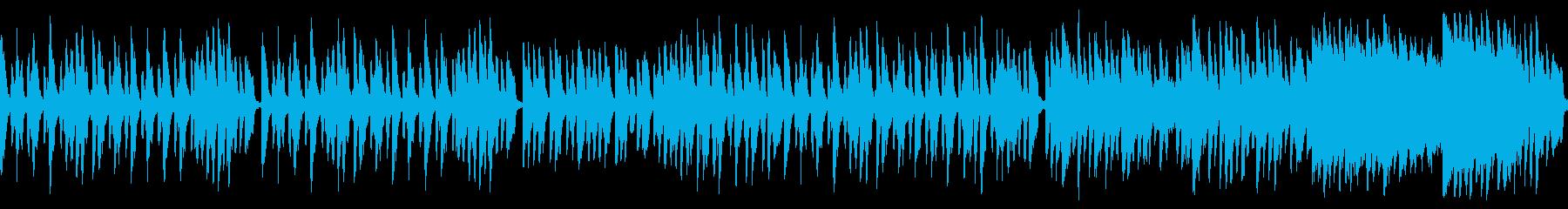 明るく軽やかメルヘン可愛いワルツ(ループの再生済みの波形