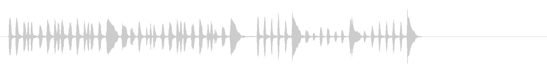 トランペットビューグルコール(ずさ...の未再生の波形