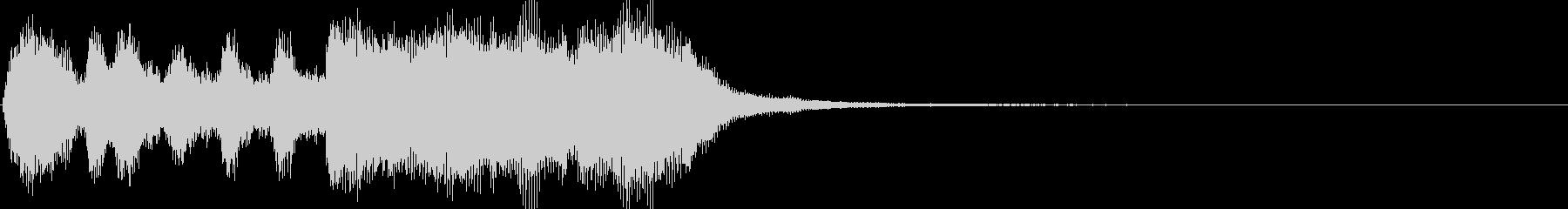 軽い/軽め/小さい ファンファーレ6の未再生の波形