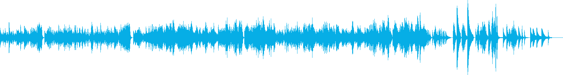 ショパン ノクターン Op32-No1の再生済みの波形