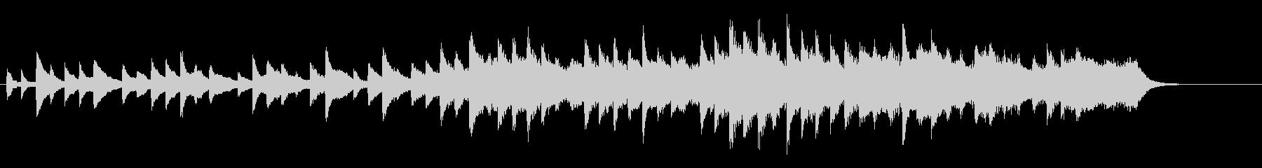 ピアノとストリングス悲しい短い曲 30秒の未再生の波形