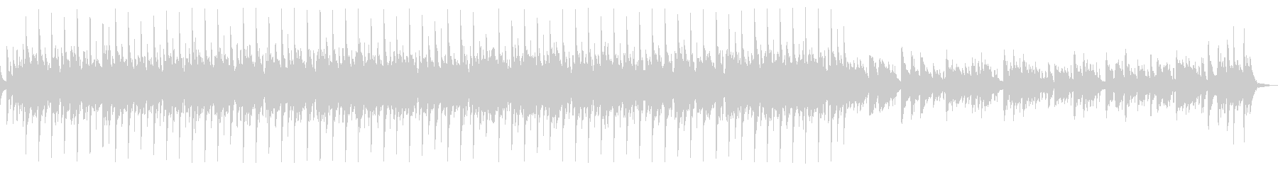 キラキラでかわいいアコギと鉄琴60秒版の未再生の波形