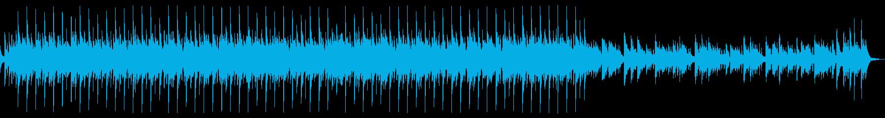 キラキラでかわいいアコギと鉄琴60秒版の再生済みの波形