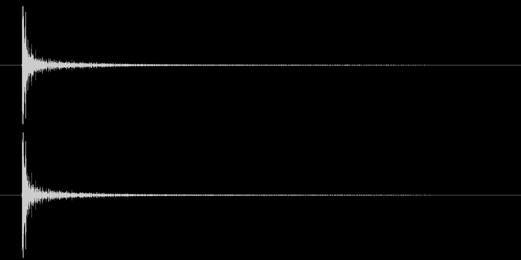 メタル インパクトタンクソリッド01の未再生の波形