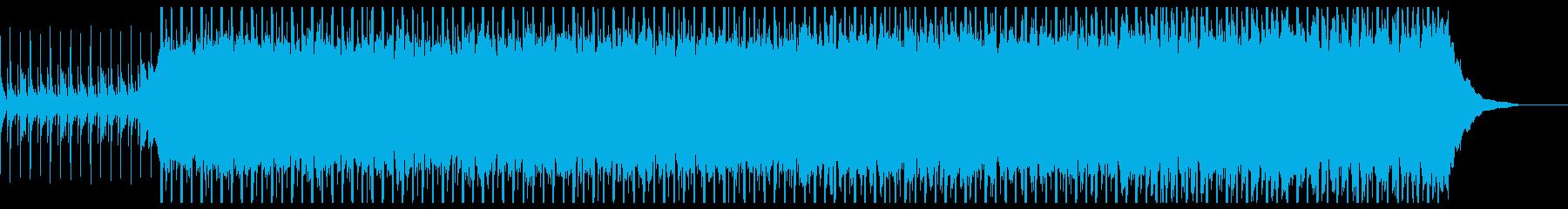 ポジティブコーポレート(中)の再生済みの波形