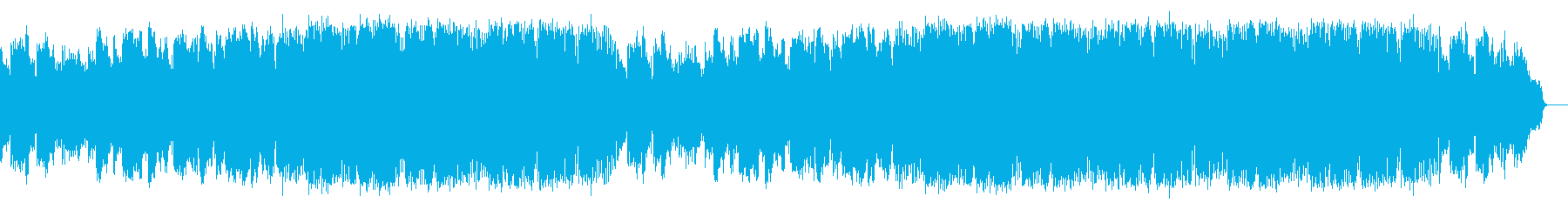 サックスが奏でる三連符のバラードの再生済みの波形