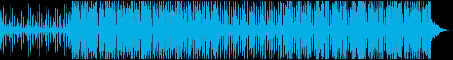 クールなハウス ニュース番組系の再生済みの波形