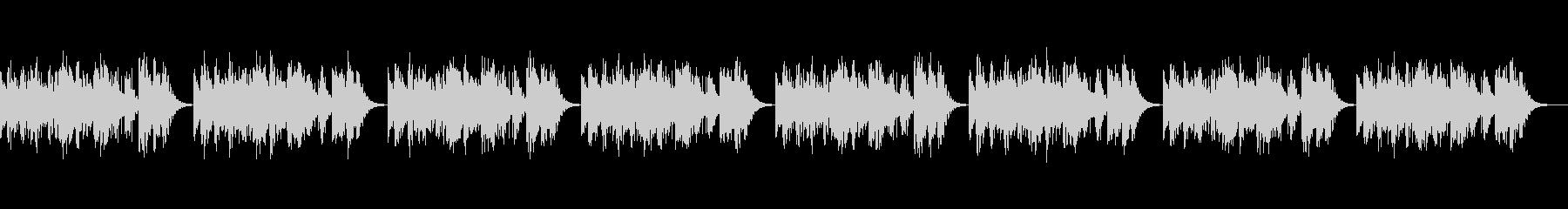 「シャボン玉」 オルゴール版ですの未再生の波形