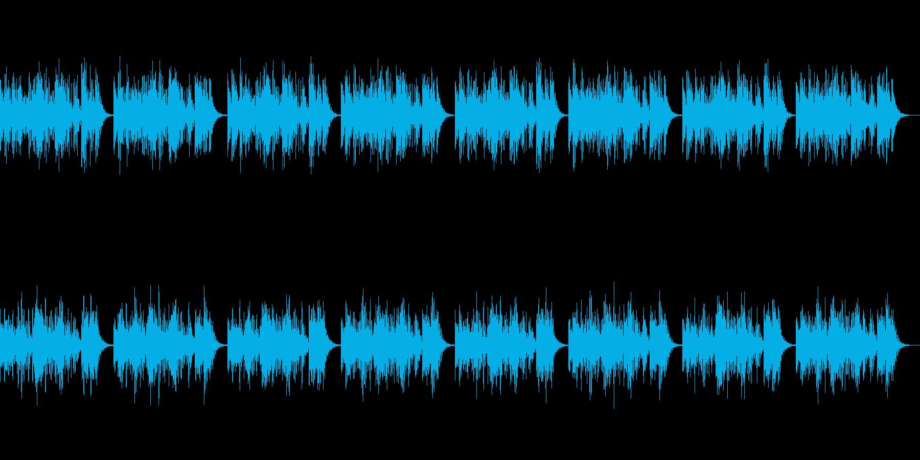 「シャボン玉」 オルゴール版ですの再生済みの波形
