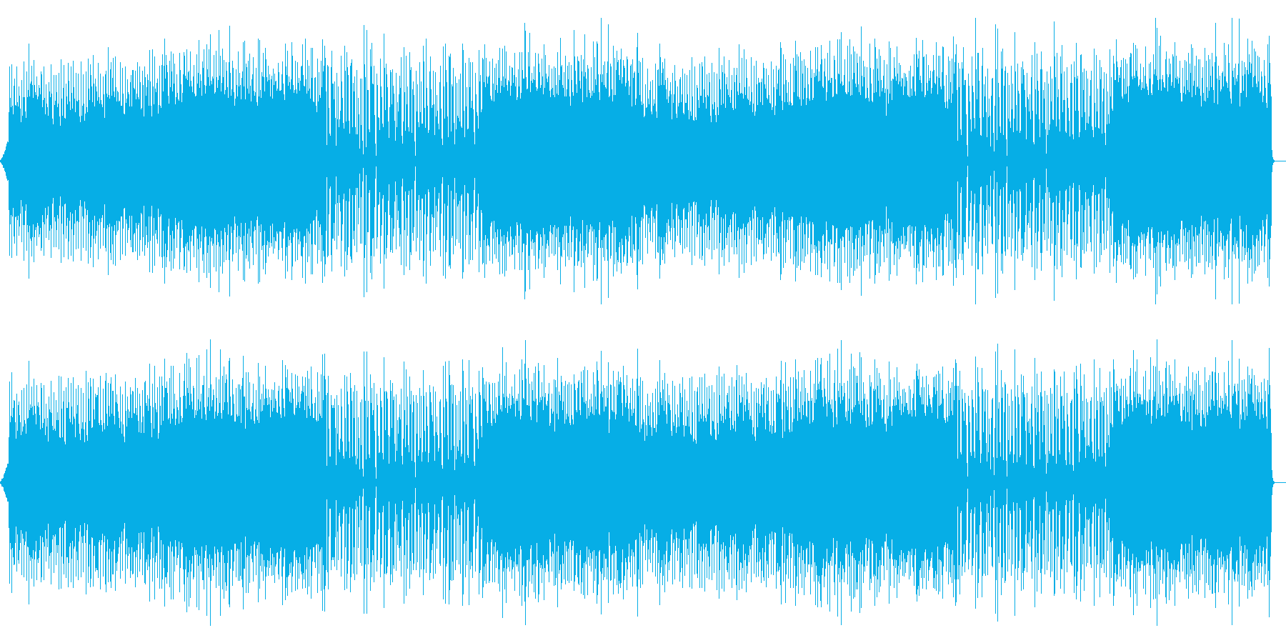 企業VPやCMに!爽やかなピアノポップの再生済みの波形