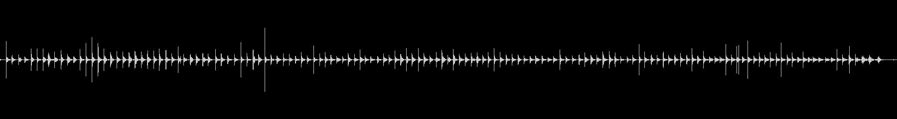 足音 女/走るスニーカー+コンクリートの未再生の波形