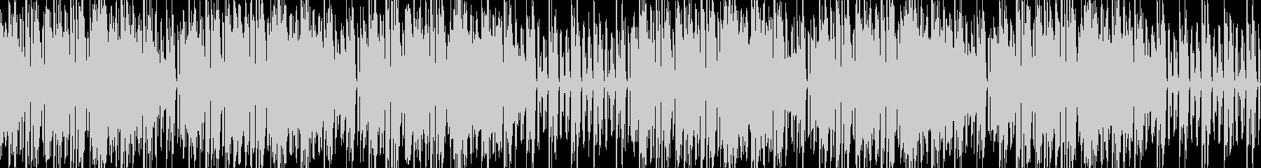 和風リズミカル電子音の未再生の波形