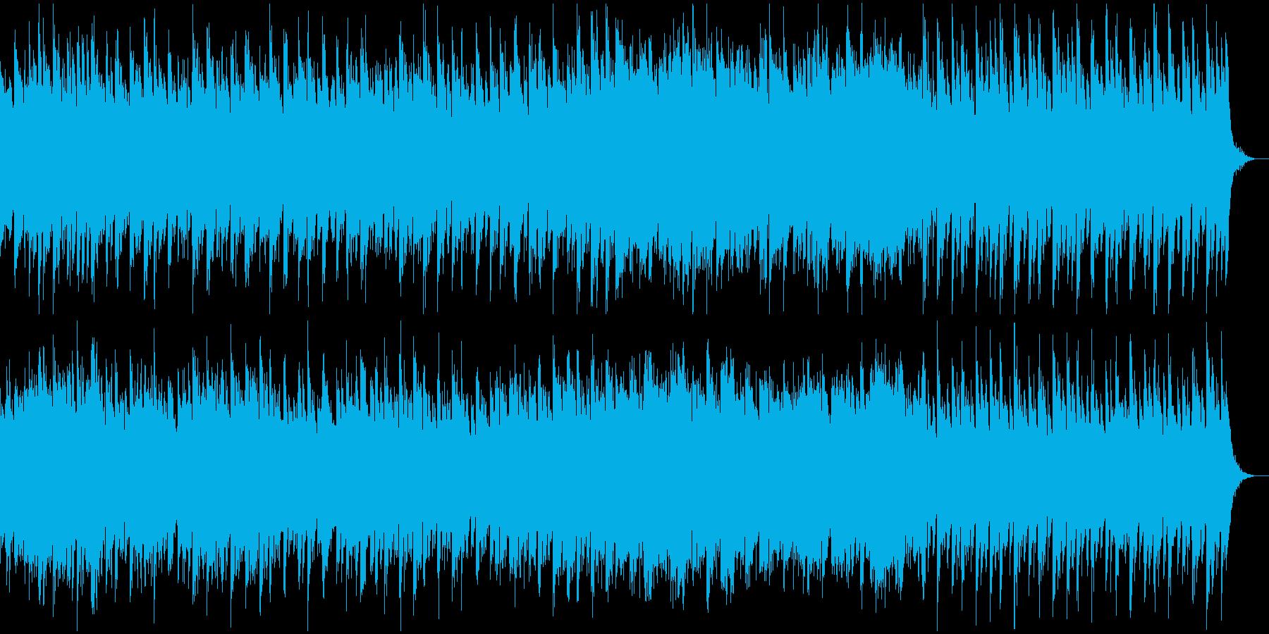 前向きで明るく楽しいストリングスポップの再生済みの波形