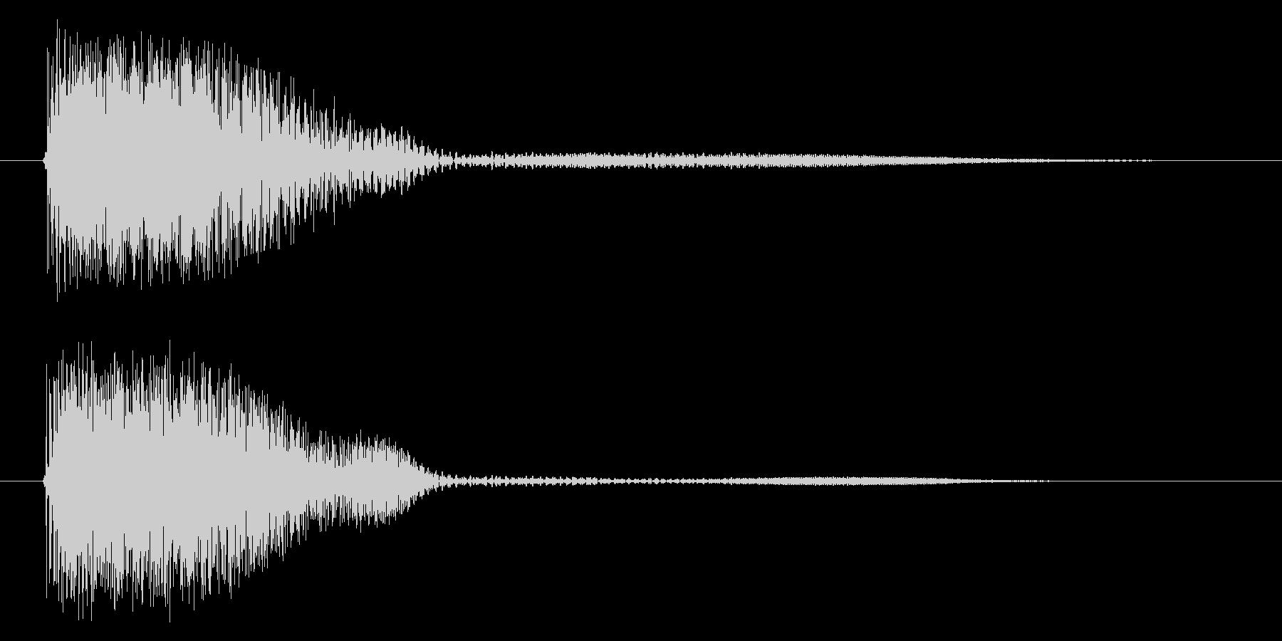 デュワンの未再生の波形