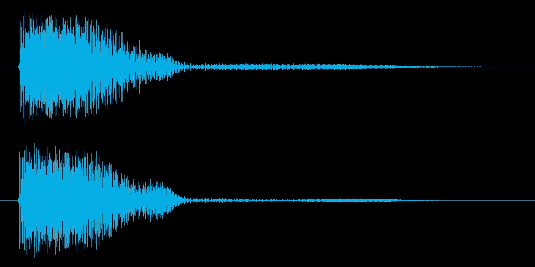 デュワンの再生済みの波形