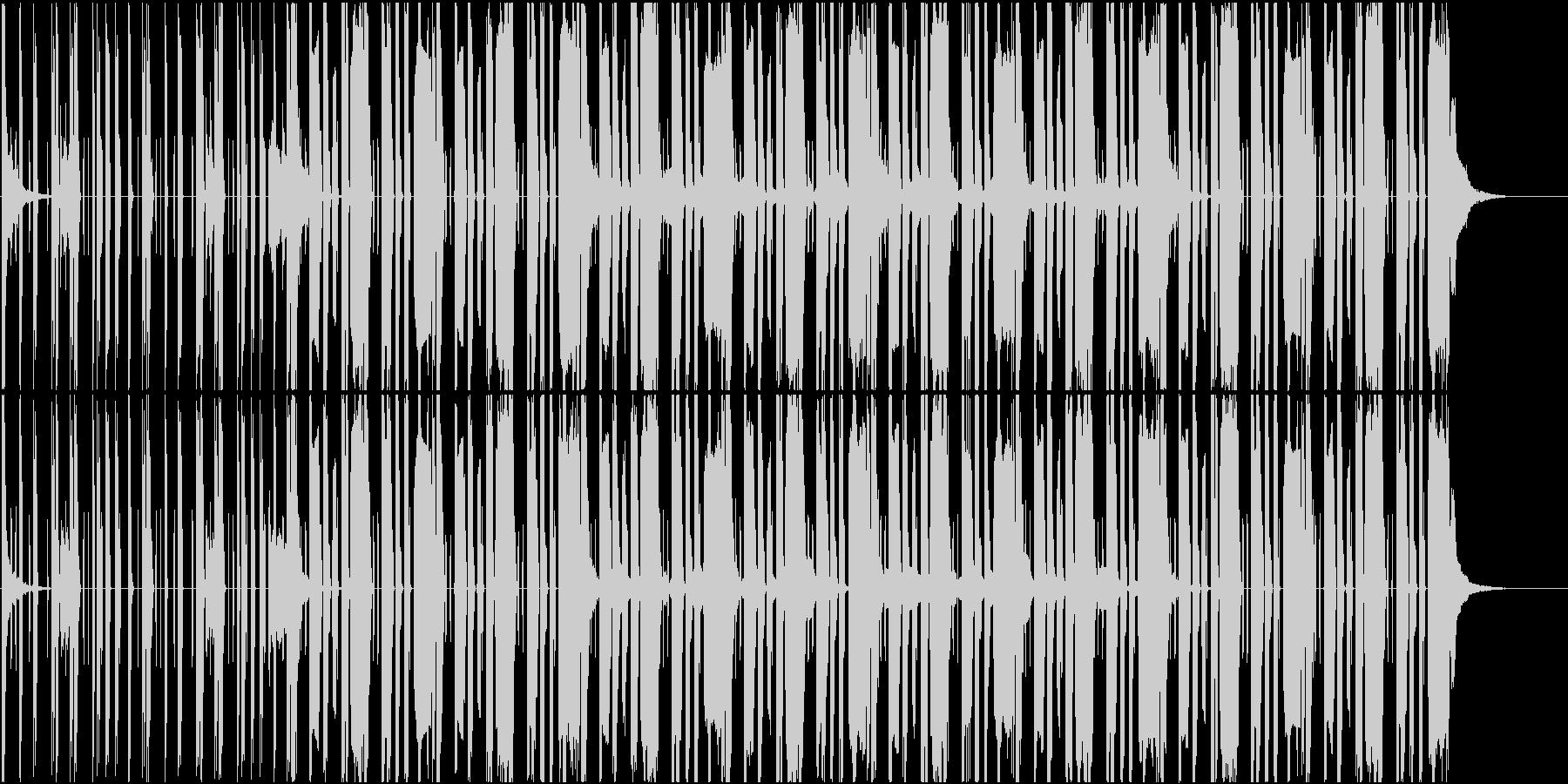 Lofiな雰囲気のhiphop系楽曲の未再生の波形
