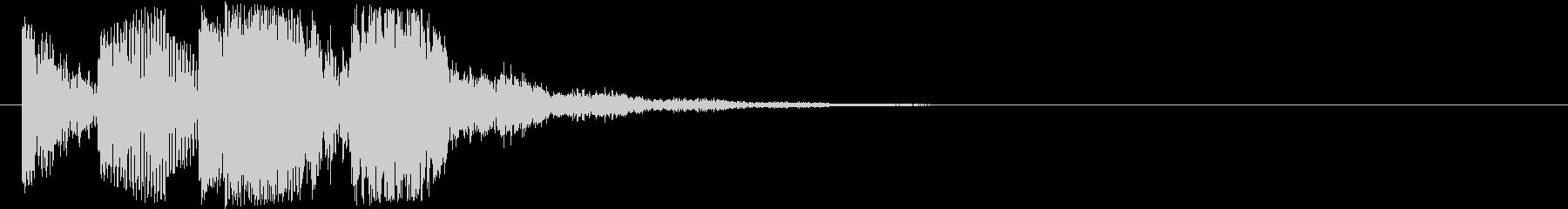 ズンズービーピコー…(トピック・テーマ)の未再生の波形