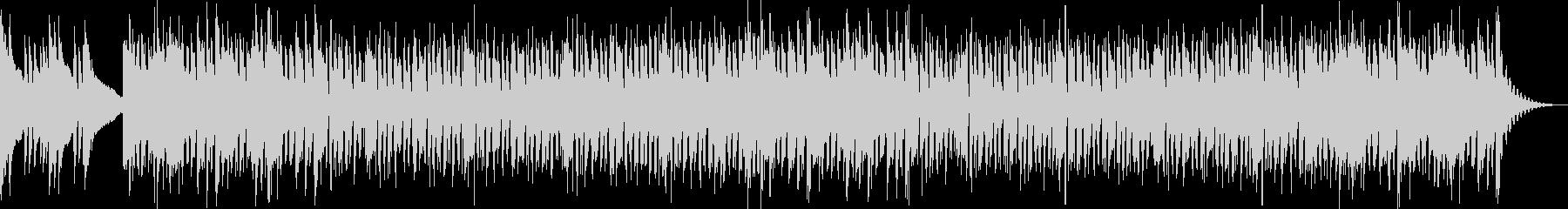 ドラムなしの未再生の波形