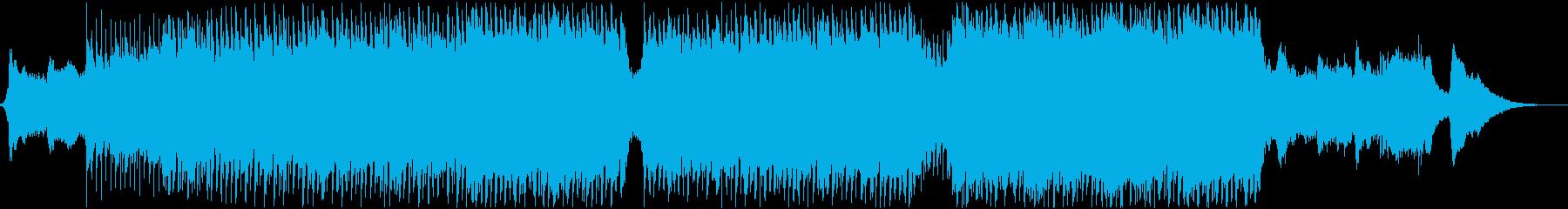 企業VP・映像・ポジティブ爽やかポップ1の再生済みの波形