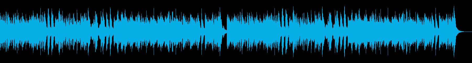 キッズ用動画等に ファンファーレ風マーチの再生済みの波形