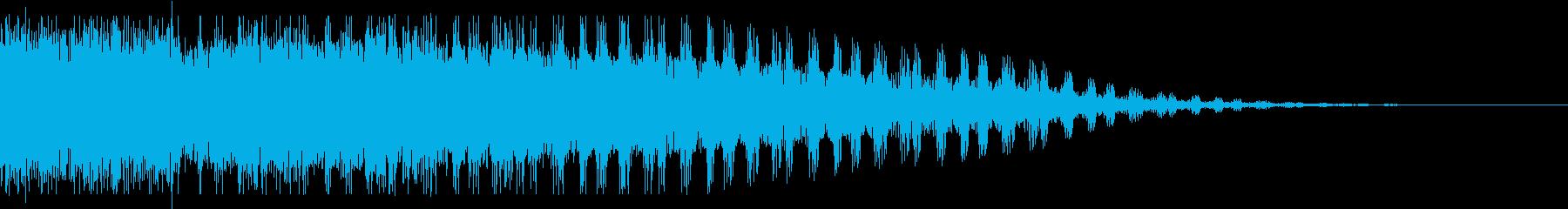ワーブルフーシュの再生済みの波形