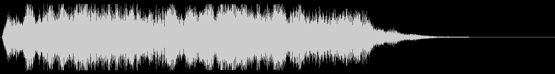 オーケストラ 勇壮なジングル パターンAの未再生の波形
