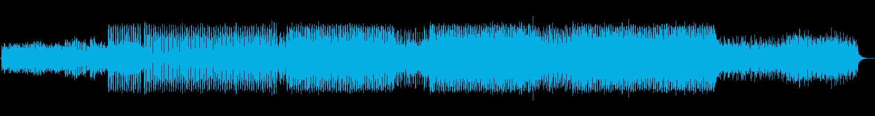 プログレッシブの再生済みの波形
