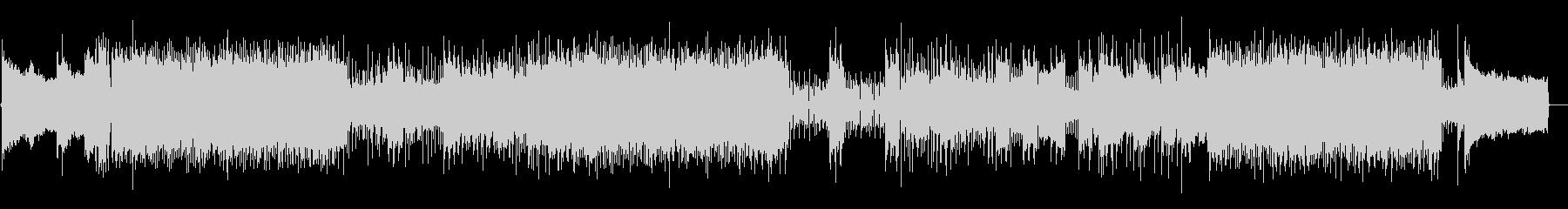 Duelist バンドサウンド版の未再生の波形