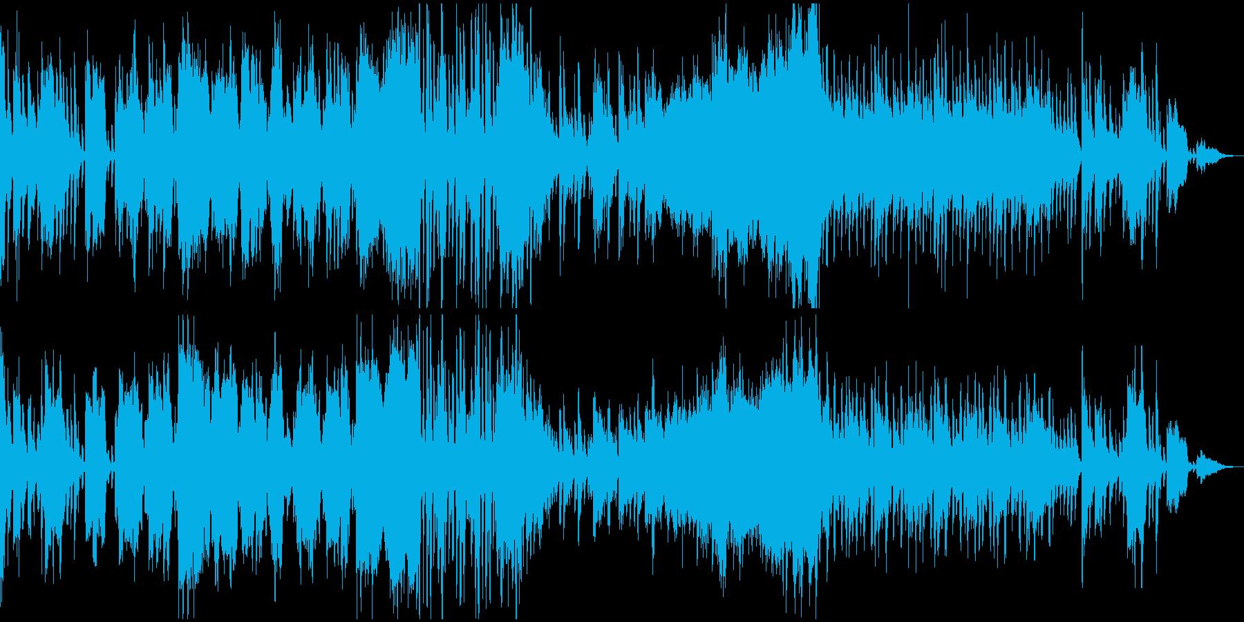 和風 楽しい妄想の再生済みの波形