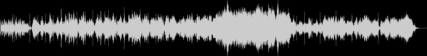 二胡が奏でる切ないメロディの未再生の波形