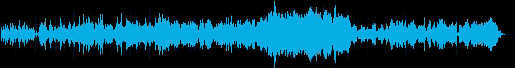 二胡が奏でる切ないメロディの再生済みの波形